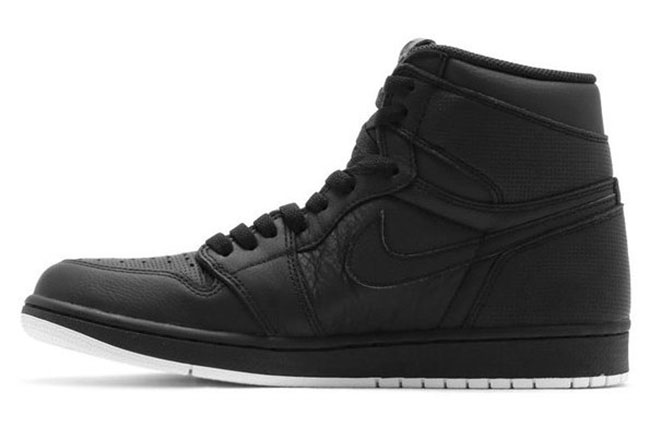 Air Jordan 1 Perforated Black