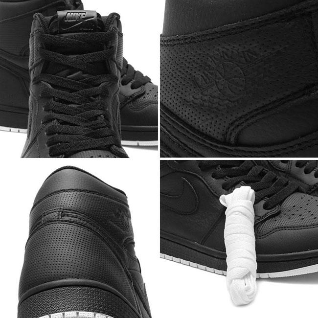 Air Jordan 1 Perforated Black