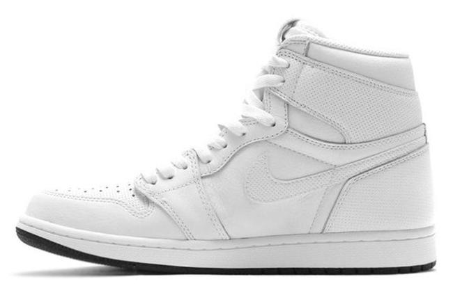 Air Jordan 1 Perforated White
