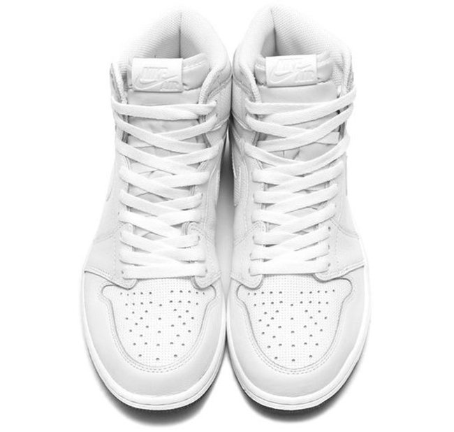 Air Jordan 1 Perforated White
