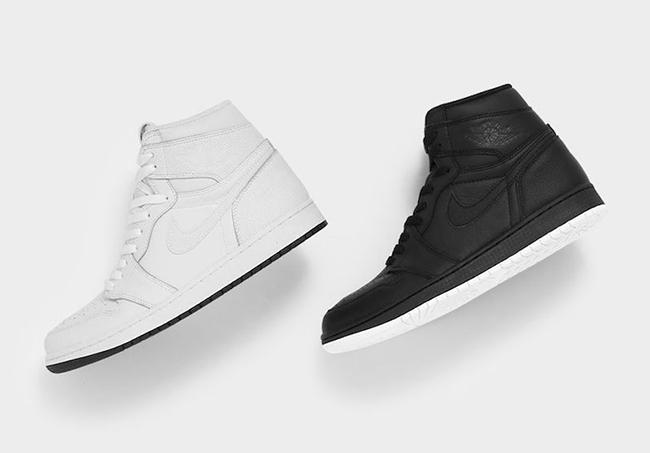 Air Jordan 1 Perforated White Black Pack