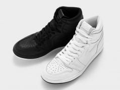 Air Jordan 1 Perforated White Black Pack