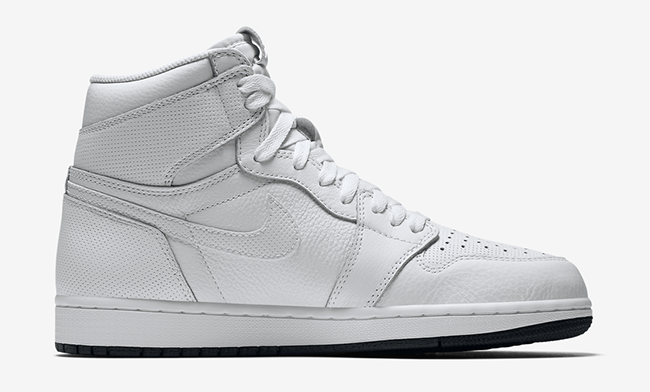 Air Jordan 1 White Black 555088-100