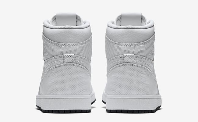 Air Jordan 1 White Black 555088-100