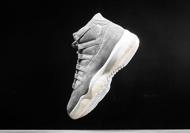 Air Jordan 11 Premium Suede Release