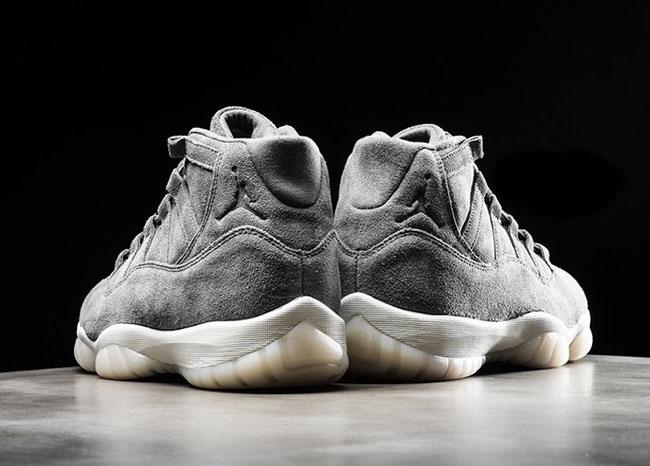 a8b7165fe79b Air Jordan 11 Grey Suede Release Date 914433-003