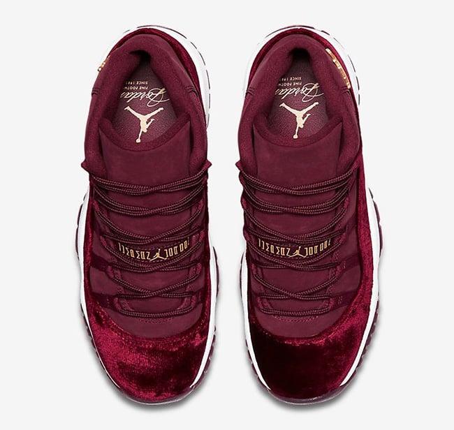 Air Jordan 11 Red Velvet Release Date  2f5f243ec