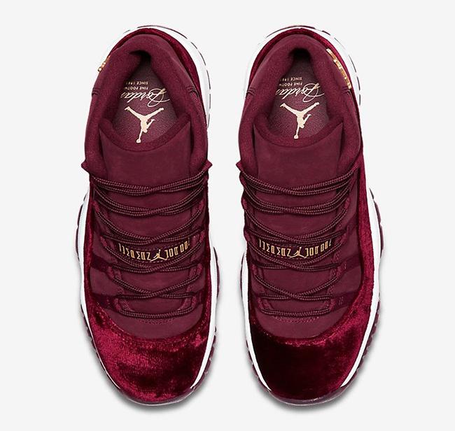 41a0bc2c4da Air Jordan 11 Red Velvet Release Date