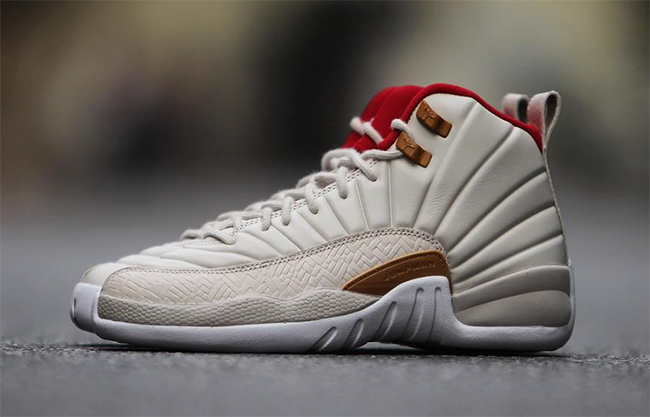 Air Jordan 12 Chinese New Year Girls Womens