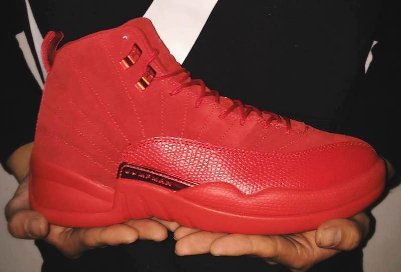 online store e7f1a c0274 Air Jordan 12 Red Suede Release Date | SneakerFiles