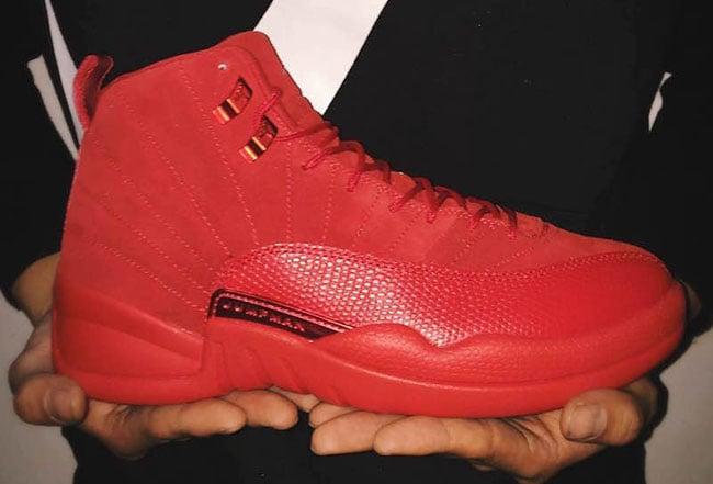 Air Jordan 12 Red Suede Release Date