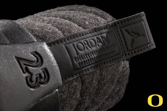Air Jordan 12 Wool Oregon Ducks PE