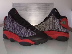 Air Jordan 13 Bred Black Red 2017