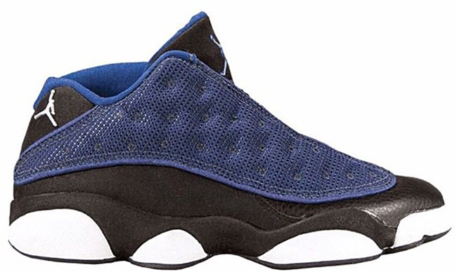 Air Jordan 13 Low Brave Blue 2017
