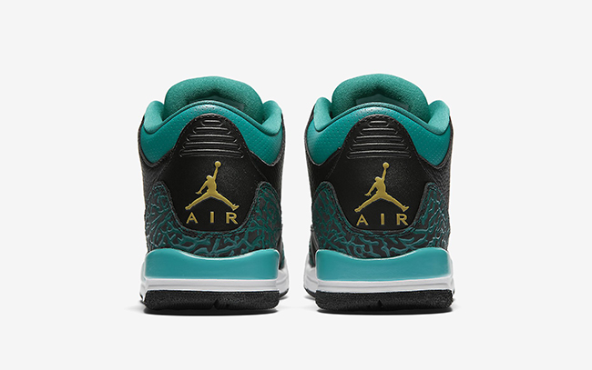 Air Jordan 3 Rio Teal Black Gold