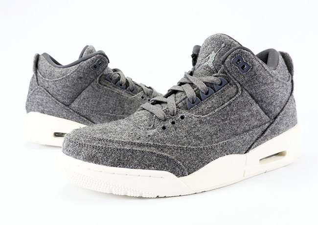 Air Jordan 3 Wool Dark Grey Review On Feet