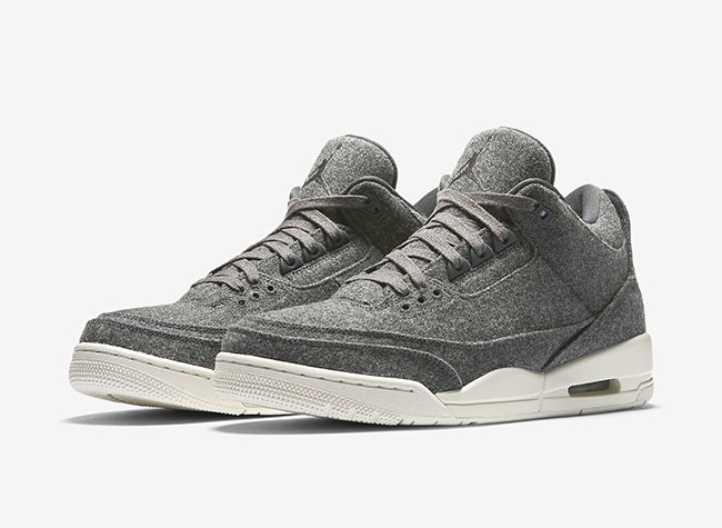 Air Jordan 3 Wool Official