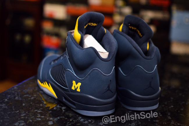Michigan Air Jordan 5 | SneakerFiles