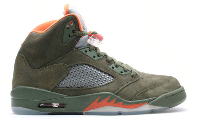 Air Jordan 5 Olive Remix 2017