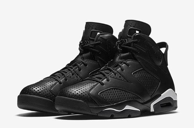 Air Jordan 6 Black Cat Official