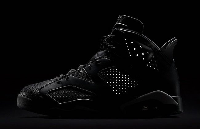 Air Jordan 6 Black Cat Official