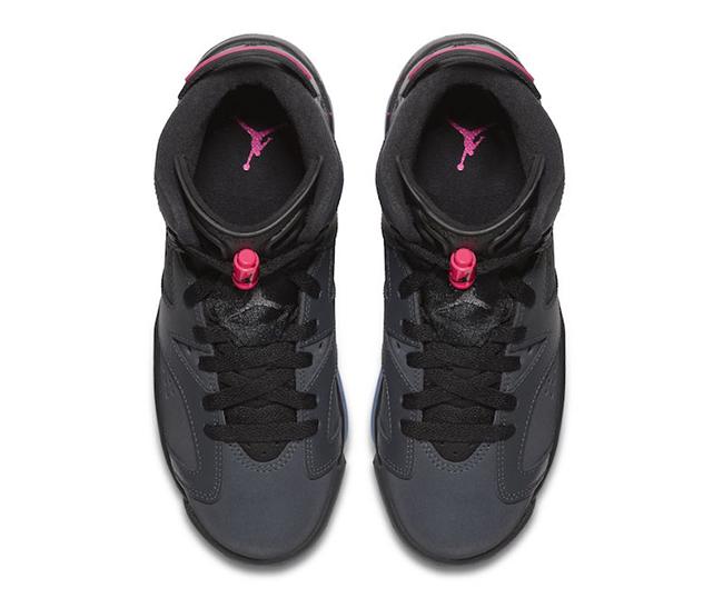 Air Jordan 6 GS Hyper Pink 2017 Release Date