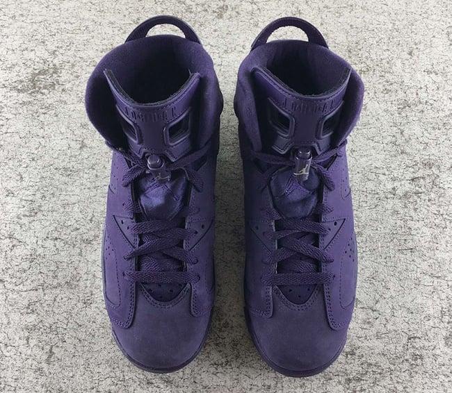 232a3b04bc373 Air Jordan 6 GS Purple Dynasty Release Date
