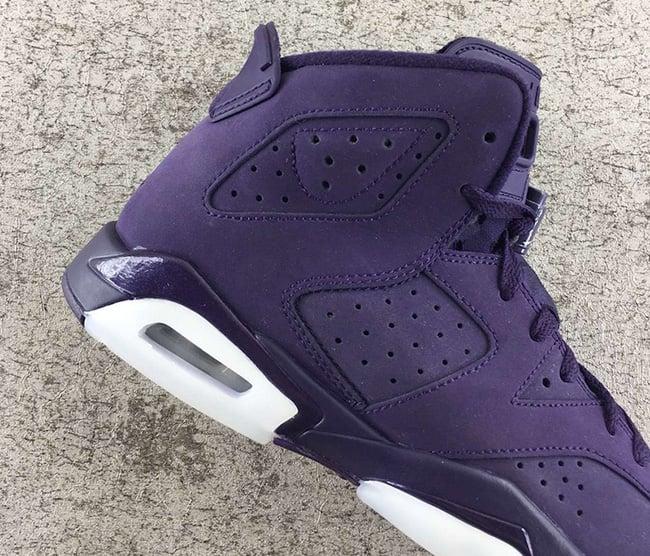 hot sale online bf94d f3bdc Air Jordan 6 GS Purple Dynasty Release Date | SneakerFiles