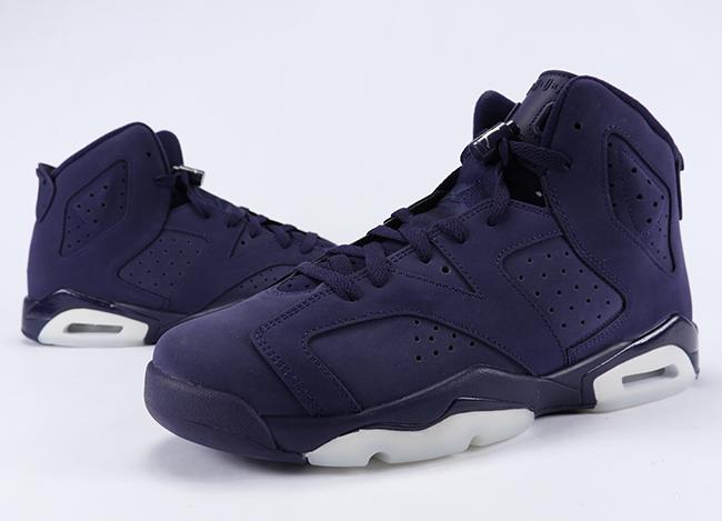 Air Jordan 6 GS Purple Dynasty Review On Feet