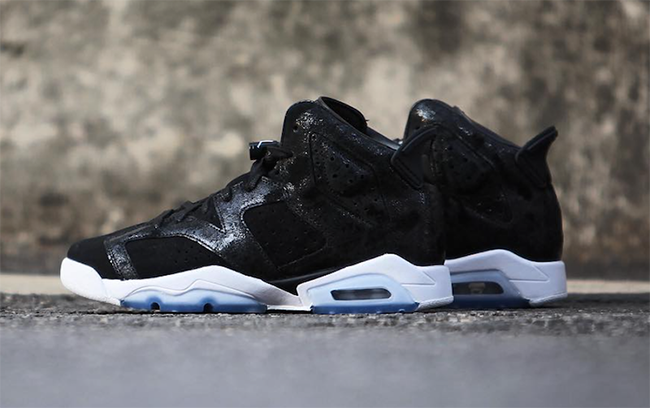 Air Jordan 6 Heiress Black White
