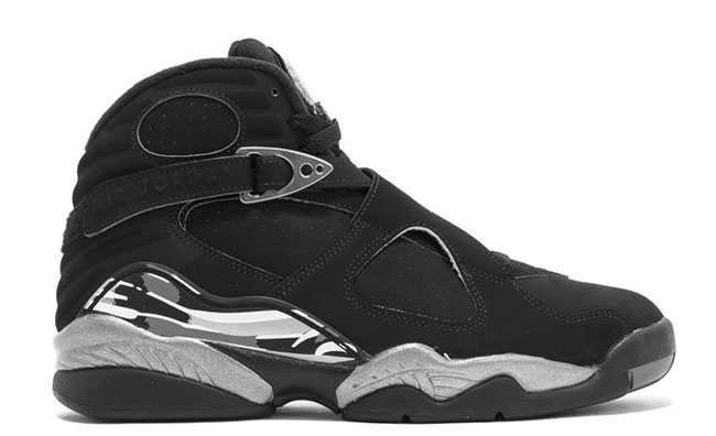 Air Jordan 8 Cement Grey Suede 2017