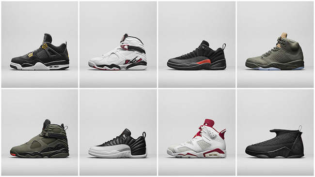 Air Jordan Spring 2017 Collection