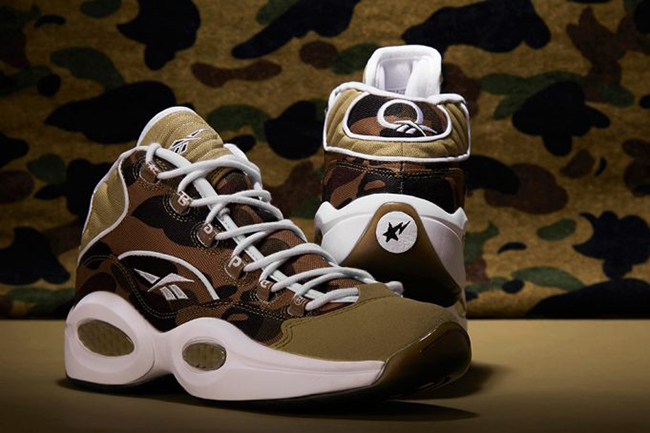 7294baaf75885c Bape x mita sneakers x Reebok Question 1st Camo
