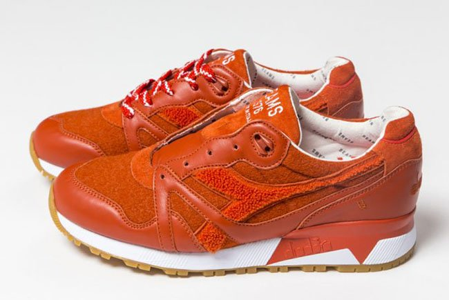 BEAMS x Diadora N9000 Orange