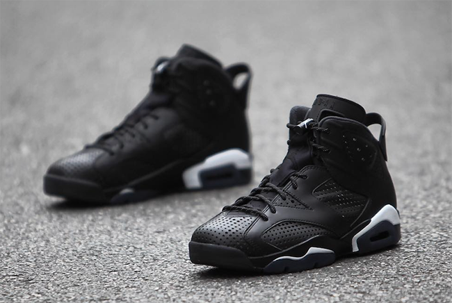 air jordan 6 retro black