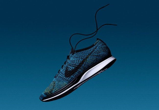 c5fbd9f5f54b Nike Flyknit Racer Blue Glow 526628-405 Release Date