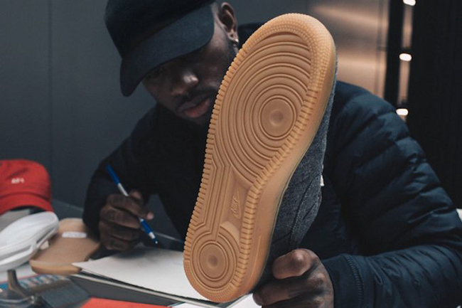 Bryson Tiller Nike Air Force 1