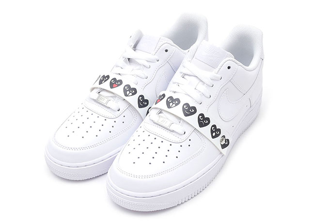 The Comme des Garçons x Nike Air Force 1 Low Emoji Will Also