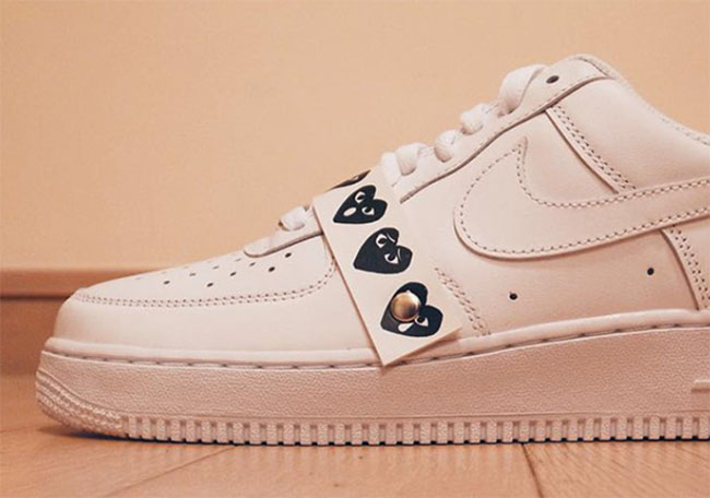 Comme des Garcons Nike Air Force 1 Low | SneakerFiles