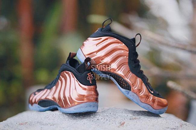 Copper Nike Foamposite One 2017