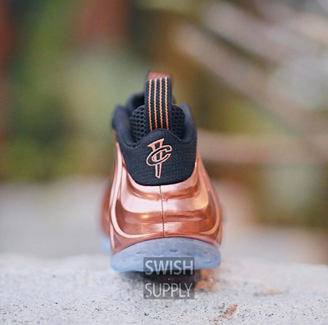 Copper Nike Foamposite One 2017