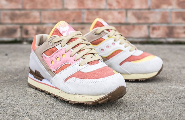 Feature x Saucony Courageous Bacon Eggs