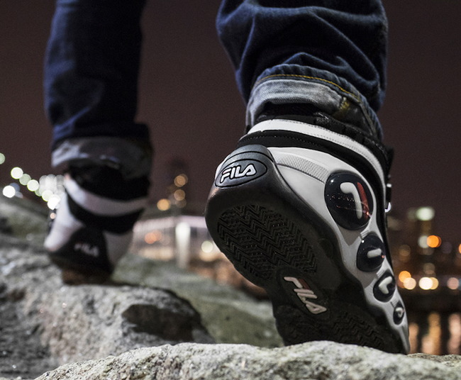 Fila Bubbles OG Black White 2016