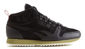 Jackthreads Reebok Classic Leather Ripple Mid