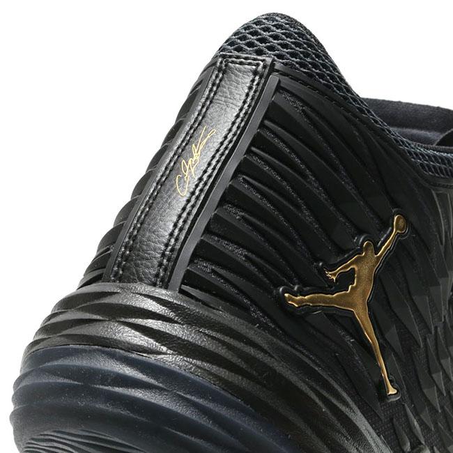 Jordan Melo M13 Black Metallic Gold
