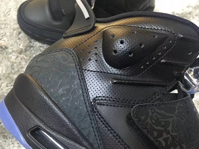 Jordan Son of Mars Black Metallic Silver