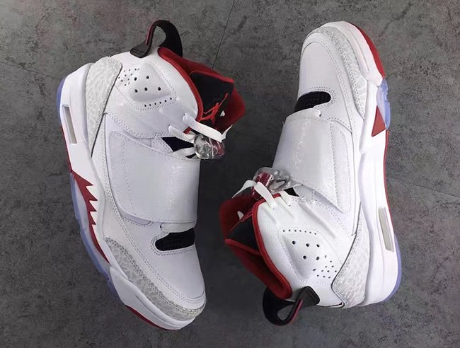 Jordan Son of Mars Fire Red
