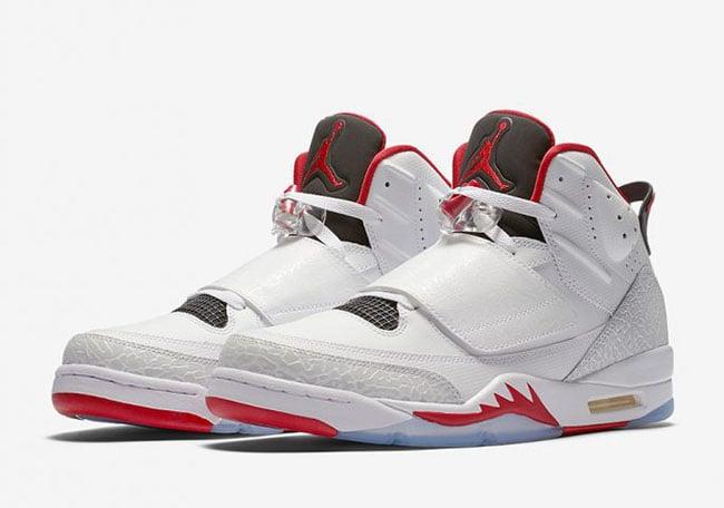 newest 999d6 52fef Jordan Son of Mars Fire Red Release