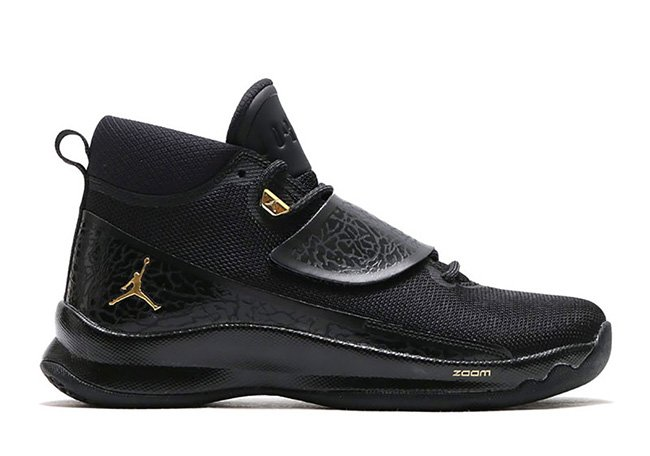 Jordan Super Fly 5 PO Black Gold