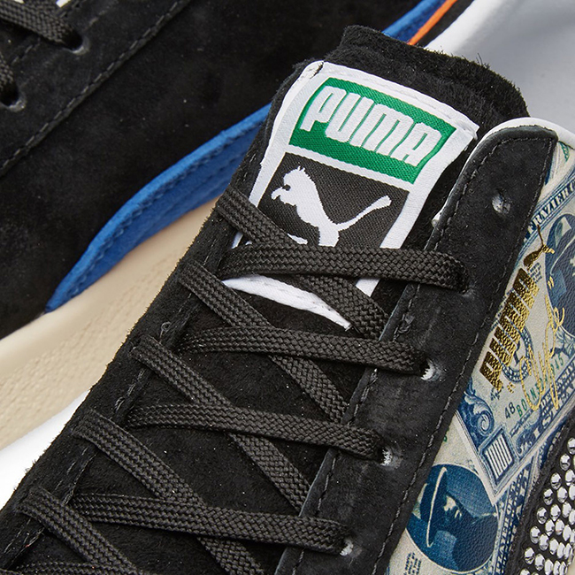 mita sneakers x Puma Clyde $1000 Bill